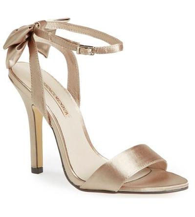 Menbur 'Milan' Satin Sandal