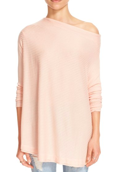 Free People blush sweater