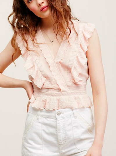FP Sugar and Spice Ruffle Tank