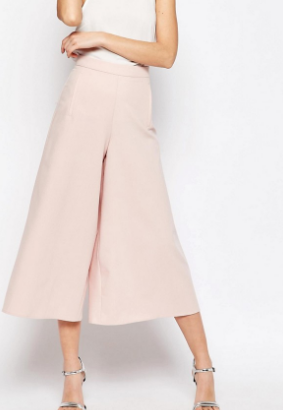 ASOS Occasion Wide Leg Culottes