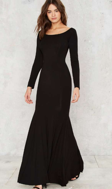 Nasty Gal World Classic Maxi Dress