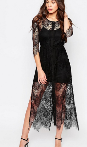Goldie Karley Lace Dress With Slip