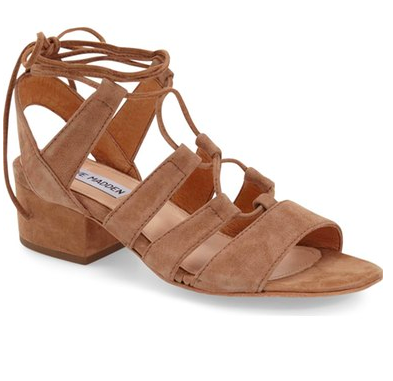 Steve Madden 'Kitty' Ghillie Sandal