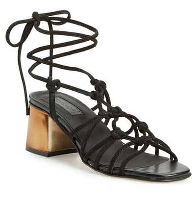 Topshop 'Napoli' Block Heel Sandal