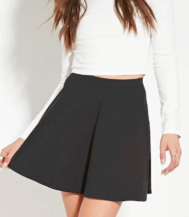 Forever 21 Mini Skater Skirt
