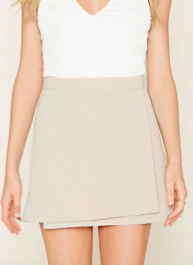 Forever 21 Mini Wrap Skirt