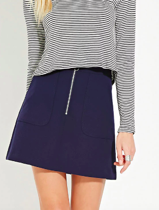 Contemporary Mini Skirt