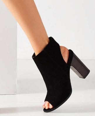 Millie Peep Toe Ankle Boot