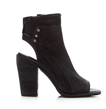 Dolce Vita Niki Open Toe Zip Up Booties