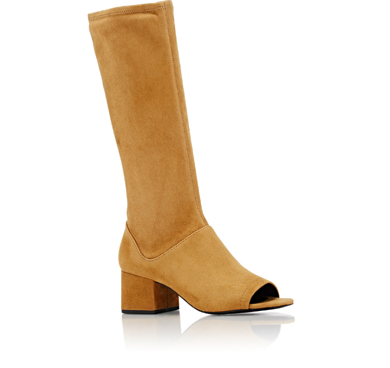 "3.1 PHILLIP LIM Suede ""Cube"" Knee Boots"
