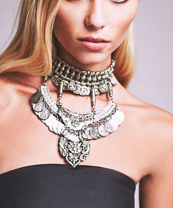 Casablanca Layered Choker