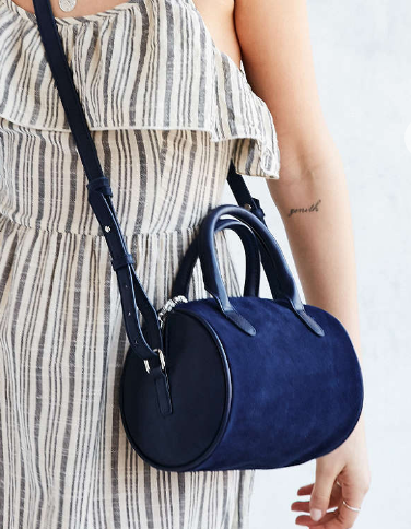 Cooperative Lizzie Duffel Crossbody Bag