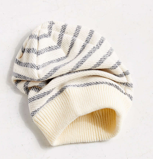 UO Striped Terry Beanie