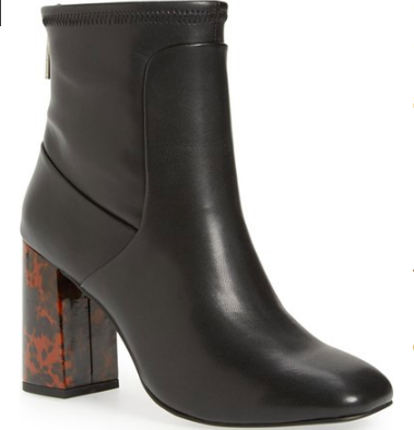 Charles by Charles David 'Trudy' Squared Toe Stretch Bootie