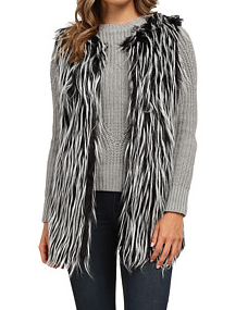 Gabriella Rocha Katrina Faux Fur Vest