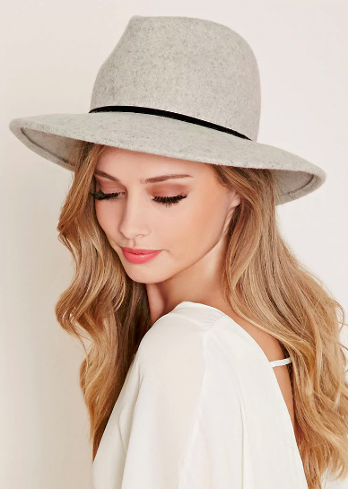 Forever 21 Classic Wool Fedora