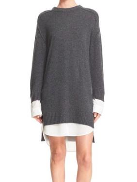 Brochu Walker 'Looker' Wool & Cashmere Sweater Dress