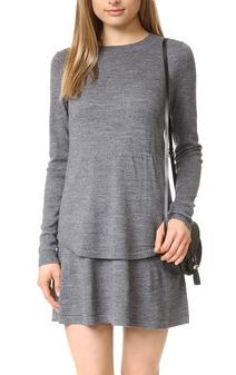 Susana Monaco Frankie Merino Sweater Dress