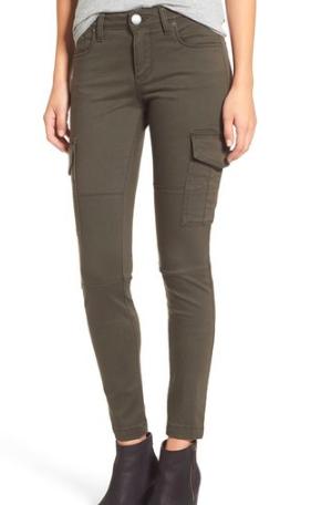 STS Blue Cargo Pocket Skinny Pants
