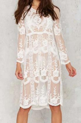 Tavia Lace Midi Dress