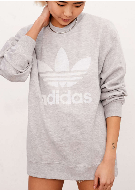 adidas Originals Double Logo Crew Neck Sweatshirt