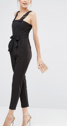 Oasis Tailored Belted Jumpsuit
