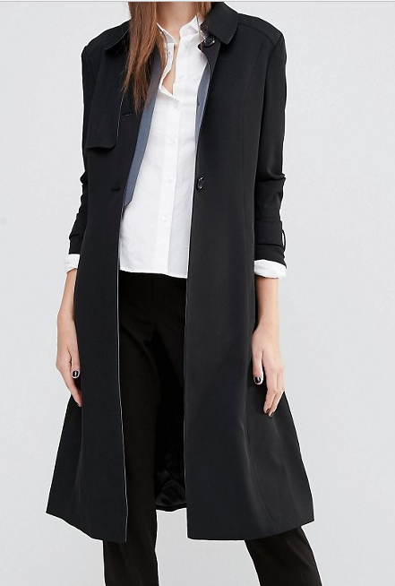Sisley Tailored Trench Coat