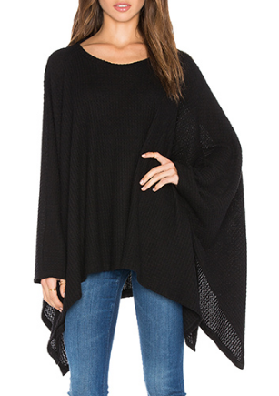 ORRICK OVERSIZED DRAPED CAPE MICHAEL LAUREN