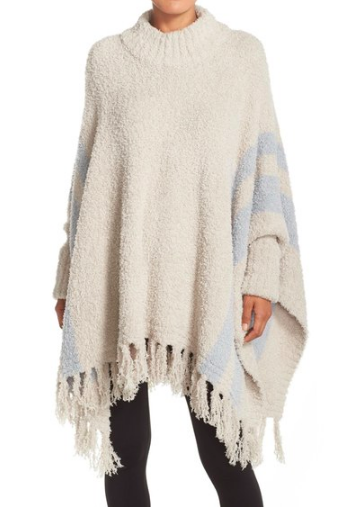 'Cozy Chic® Beach' Fringe Lounge Poncho BAREFOOT DREAMS®