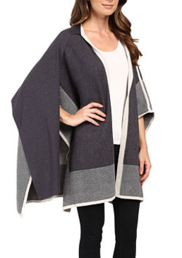 NIC+ZOE Textured Eclipse Cape