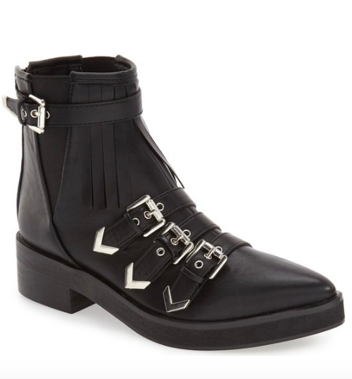 Turner' Kiltie Fringe Moto Boot COCONUTS BY MATISSE
