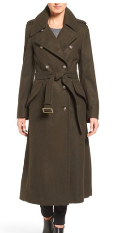 Double Breasted Trench Coat LONDON FOG