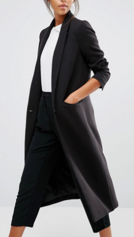 Selected Longline Tailored Coat
