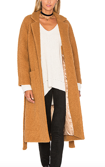 FENN WRAP COAT GANNI