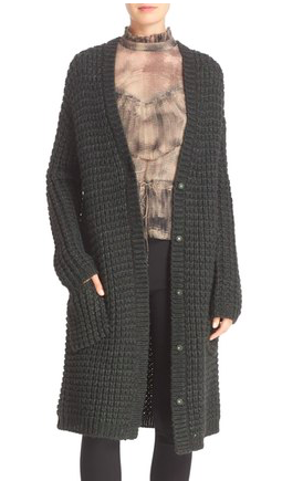 Tracy Reese Chunky Sweater Coat