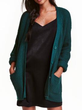 HM Chunky-knit Cardigan