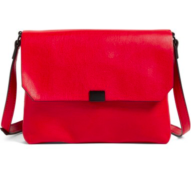 Phase 3 Faux Leather Crossbody Bag