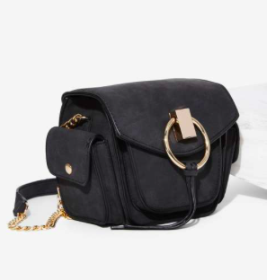Freda Vegan Leather Crossbody Bag