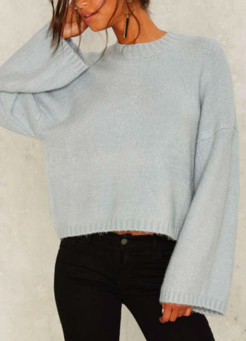 Killin' It Softly Bell Sleeve Sweater