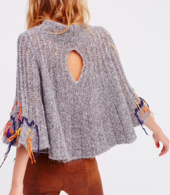FP Touch Of Fringe Pullover