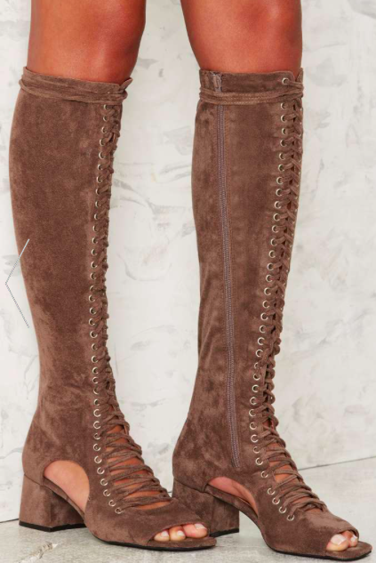 Jeffrey Campbell Vermont Lace-Up Boot