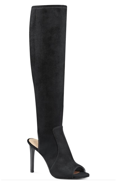 Nine West 'Lettie' Peep Toe Boot