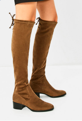 ZARA FLAT OVER-THE-KNEE BOOTS