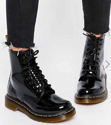 Dr Martens Modern Classics 1460 Patent 8-Eye Boots