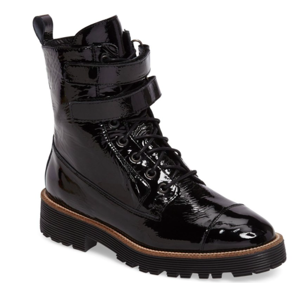 Tyra Combat Boot  SHELLYS LONDON