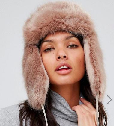 Urbancode Contrast Faux Fur Trapper
