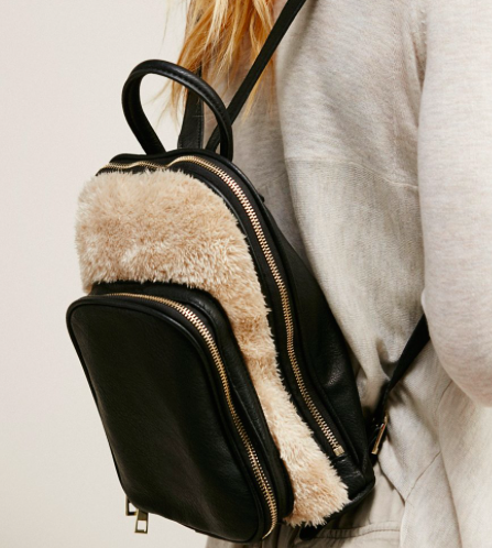 Gracie Roberts Lyra Faux Fur Backpack