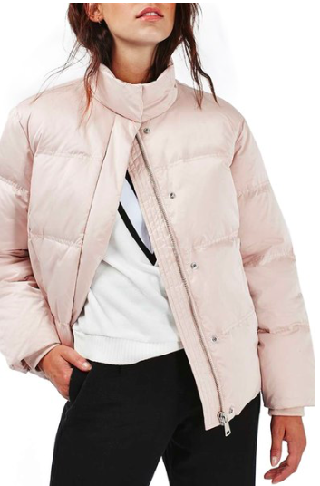 Emily Puffer Jacket  TOPSHOP