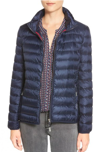 Pax on the Go' Packable Quilted Jacket  TUMI