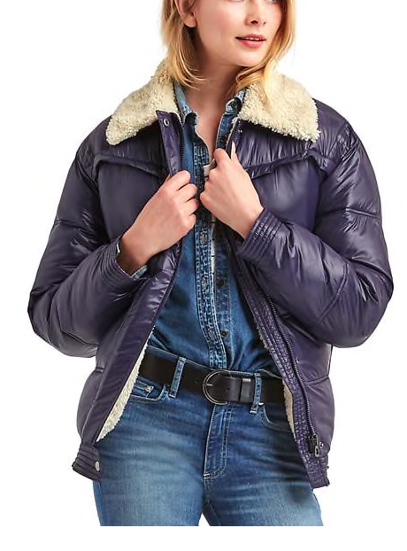 ColdControl Max sherpa-lined puffer jacket